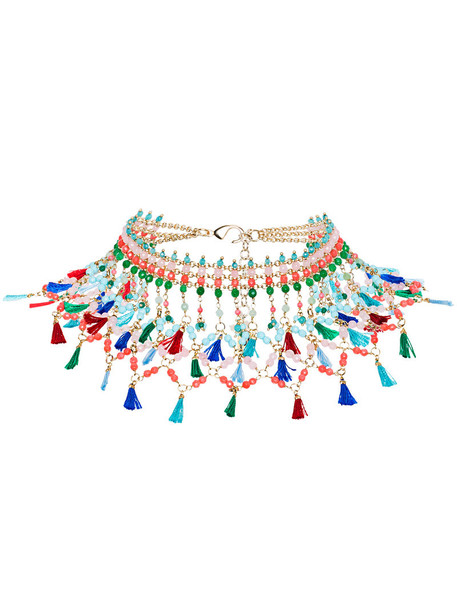 women beaded necklace jewels