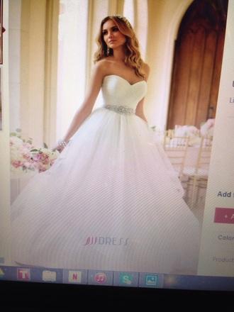 dress white dress white ball gown dress wedding sweet 16 party jewelry jjdress jjdresss.com