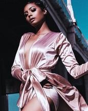 jacket,fashion toast,fashion vibe,style scrapbook,robe,pink dress,satin dress