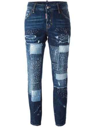 jeans girl cool blue