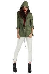 Kendall Khaki Anorak Jacket