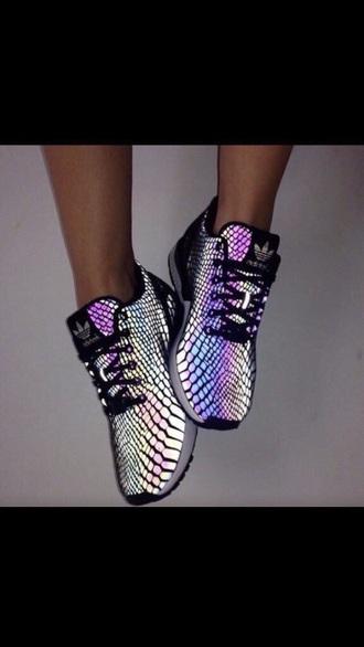 shoes adidas shoes rainbow adidas