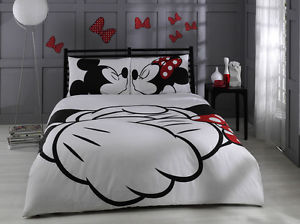 Disney Mickey Minnie Mouse Double Size Quilt Duvet Cover Set Licensed Products | eBay