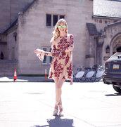 cocorosa,blogger,dress,shoes,bag