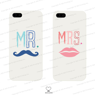 moustache phone case matching phone cases matching phone covers mr and mrs kiss marks mr and mrs phone cases mr and mrs phone covers his and hers his and hers gifts wedding gifts newlyweds gift galaxy s5 cases iphone 4 case iphone 5 case iphone 5 case galaxy s3 phone case galaxy s4 case