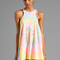 Unif haighter tank dress in multi | revolve