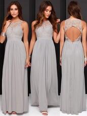 dress,silver bridesmaid dresses,bridesmaid