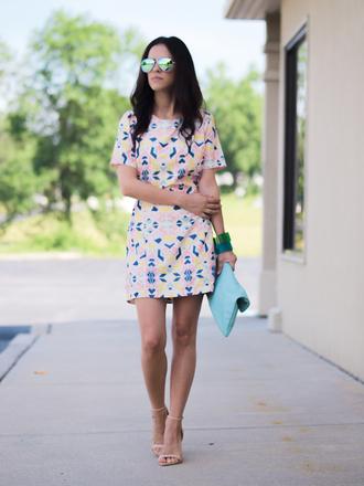 shoes bag jewels sunglasses bittersweet colours dress