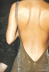 dress,open back,nude,gold,tan,maxi dress