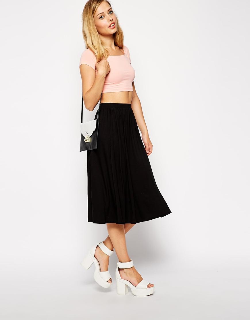 ASOS Full Midi Skirt at asos.com