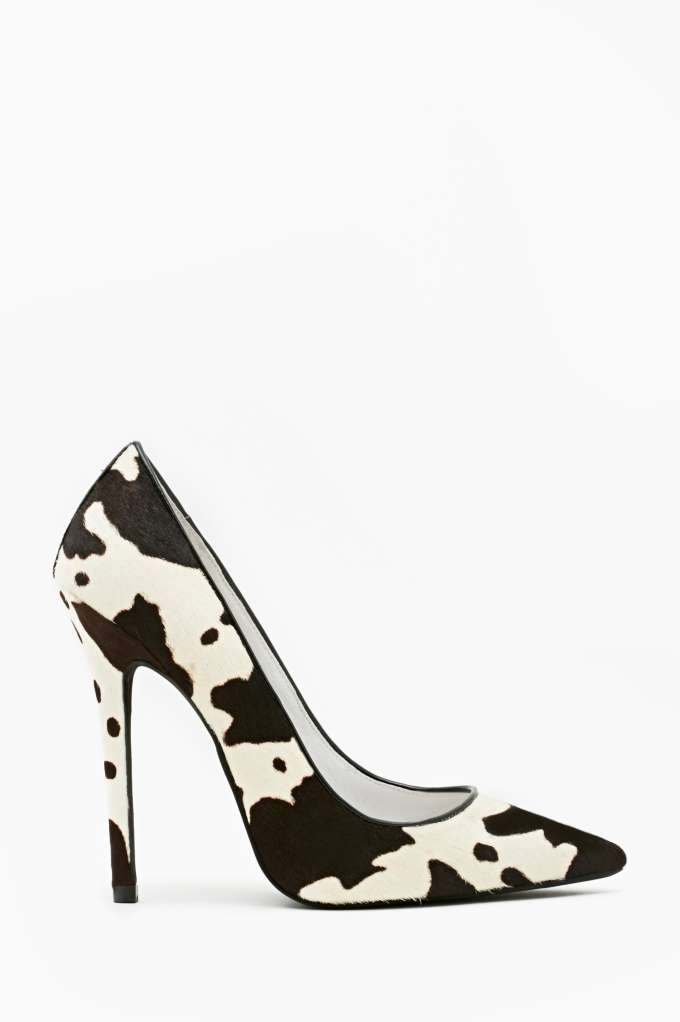 Jeffrey Campbell Darling Pump - Animal in  What's New at Nasty Gal