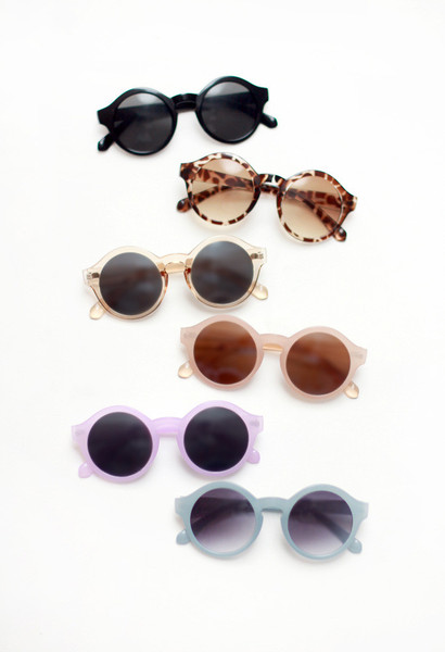 Jelly Rounds Sunglasses | Tarte Vintage