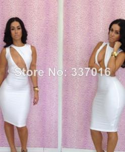 New arrival women summer dress 2014 vintage dress print sleeveless vest one-piece dress beach dress EN005 | Amazing Shoes UK