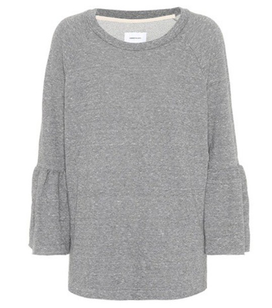 Current/Elliott sweatshirt cotton grey sweater