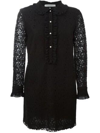 dress lace dress lace floral black