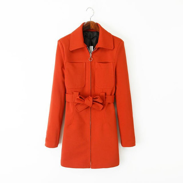 fall jacket carrot coat red long jacket fall outfits