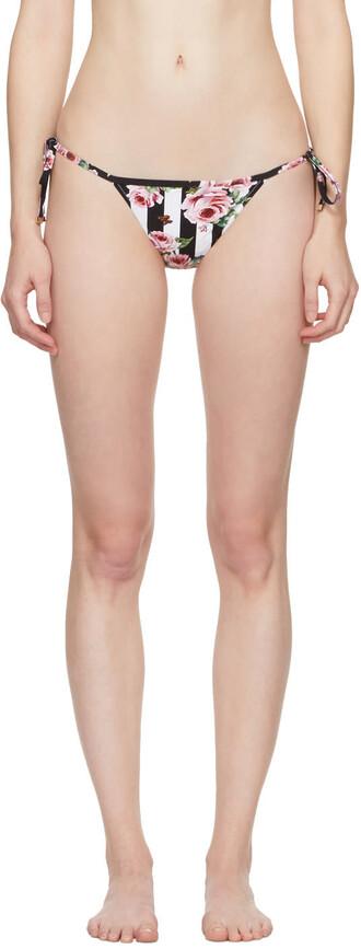 bikini bikini bottoms rose multicolor swimwear