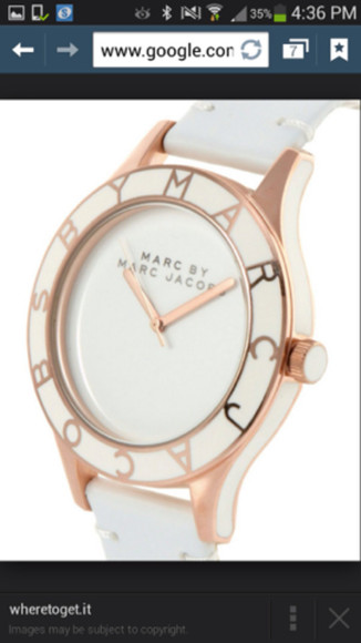 jewels marc by marc jacobs watch marc jacobs watch rose gold watch