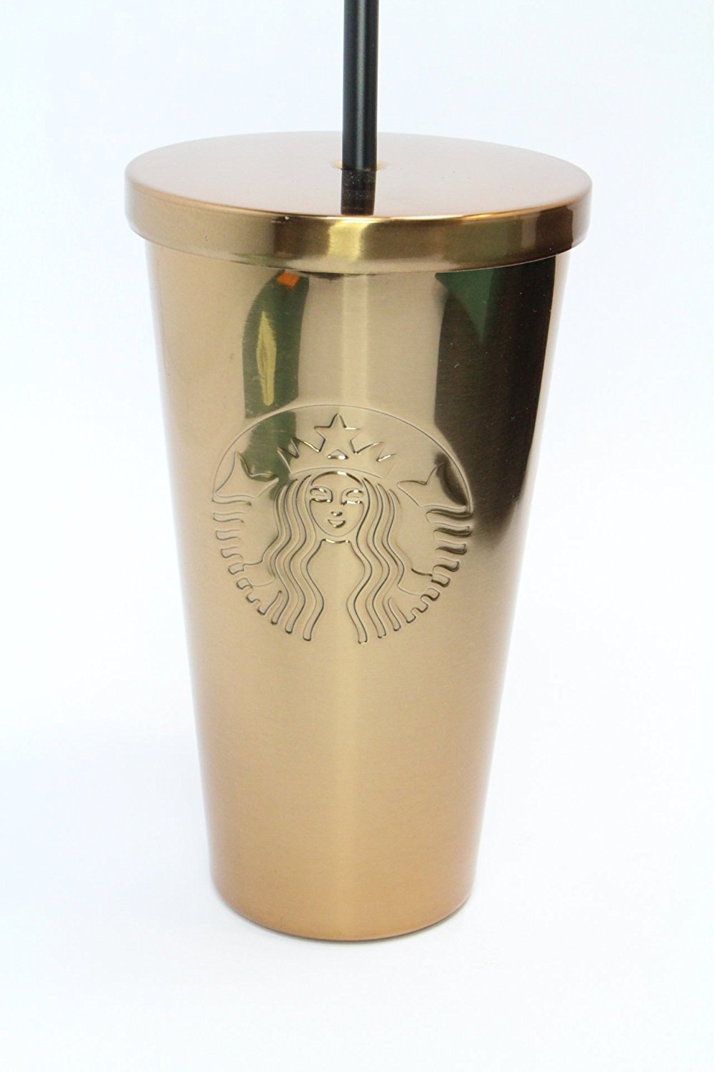 Amazon.com | Starbucks Stainless Steel Cold Cup - Gold: Tumblers