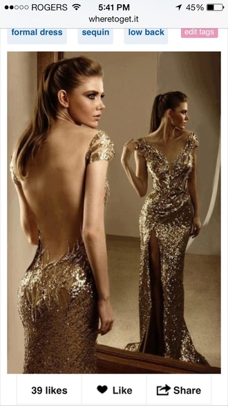 dress gold prom dress prom gown gold sequins bodycon dress sweetheart dress cap sleeves