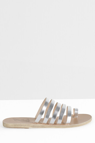 strappy sandals strappy sandals silver shoes
