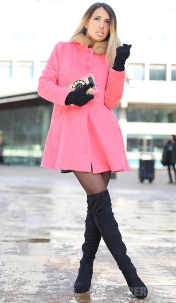 coat persunmall coat persunmall pink coat pink