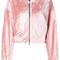 Nike - nikelab essentials velour hoodie - women - viscose/polyester/cotton - s, pink/purple, viscose/polyester/cotton