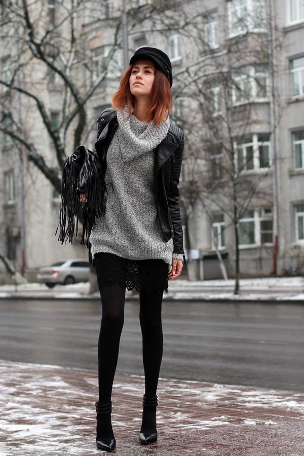 tina sizonova jacket sweater shoes skirt jewels