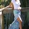 Bergamot bandanna print maxi skirt