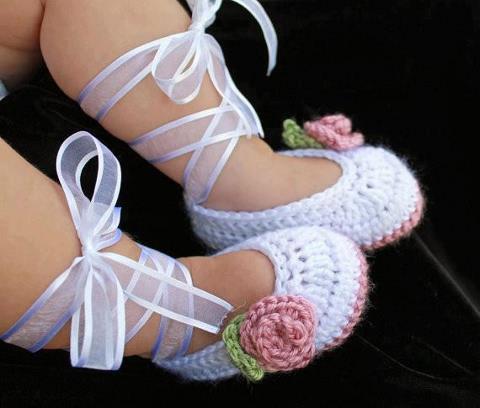 Baby Sandals Handmade crochet. Sandalias para by josiejackson1010