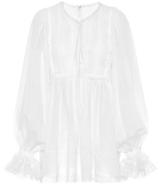 Dolce & Gabbana top cotton white