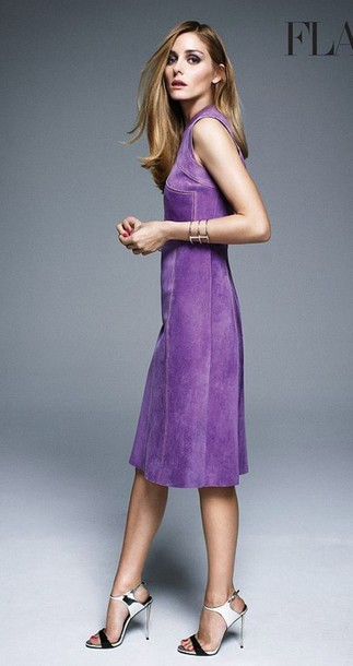 olivia palermo sandals purple dress dress shoes