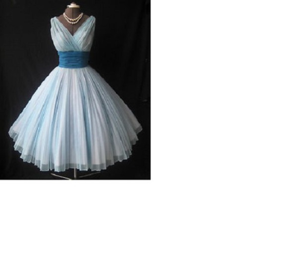 dress formal dress prom dress homecoming dress blue vintage vintage clothing