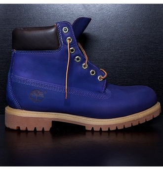 boots timberland blueberry blue