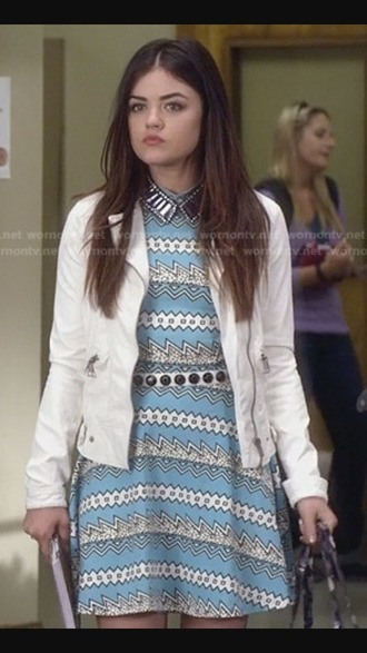 dress school girl aria montgomery long dress perfecto shirt belt pants