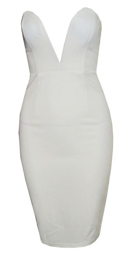 Sexy strapless dress my0060fy