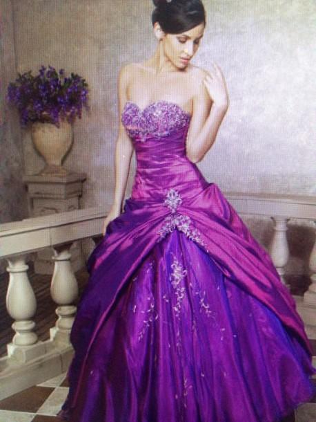 Purple Princess Dress