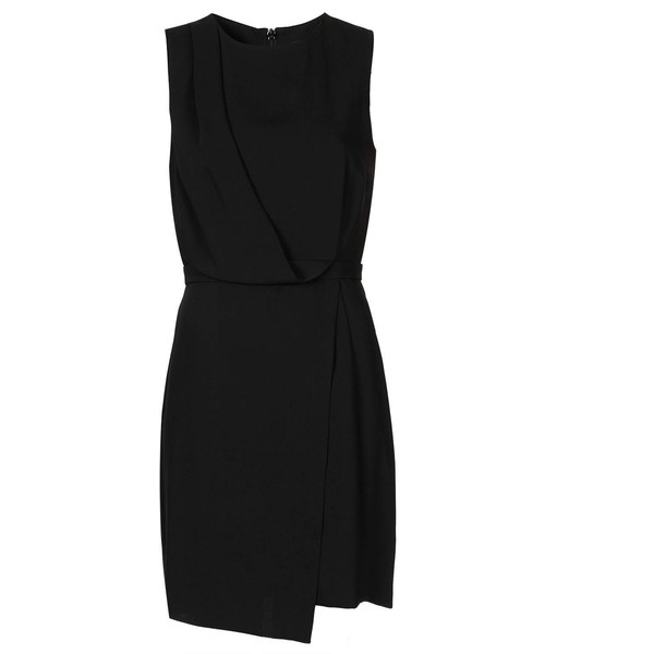 TOPSHOP Drape Shift Dress - Polyvore