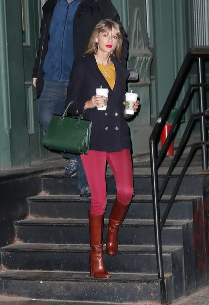 jacket boots taylor swift bag pants