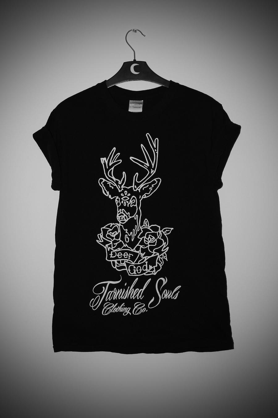 Tarnished souls clothing co. — deer god t