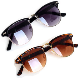 Online Shop 2015 Fashion Eyewear Classic Retro Unisex Avaitor Sunglasses  Women Men Sun Glasses 2 Colors ... 4a673a92ad