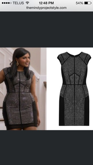 sequins new year's eve mindy project