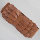 belt,brown,ruffle,big belt,thick belt,ruffle belt,brown belt,elastic,elastic belt,bow,bow belt,elastic waist
