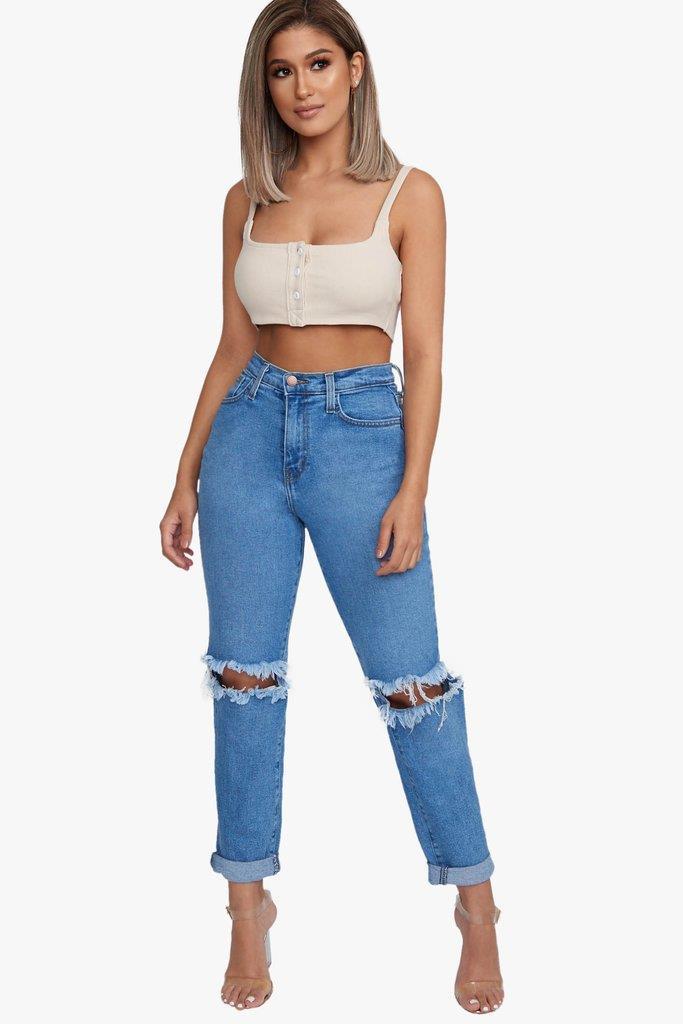 Riley Girlfriend Jeans