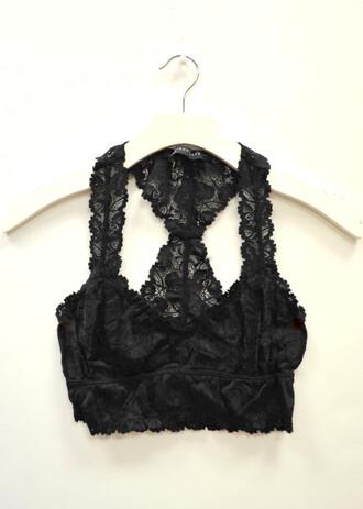 underwear bra bralette black lace bra black bralette black bra lace bralette racerback