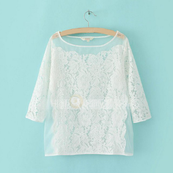top t-shirt lace