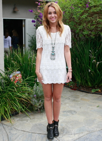 Miley Cyrus White Dress - Shop for Miley Cyrus White Dress on ...
