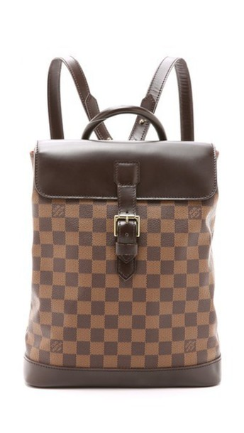 What Goes Around Comes Around Louis Vuitton Damier Soho Backpack (Previously Owned) - Lv Print