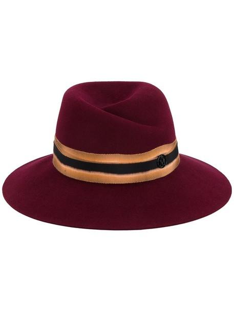 cherry hat fedora red