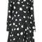 Carven - floral print dress - women - silk/polyester/acetate - 36, black, silk/polyester/acetate